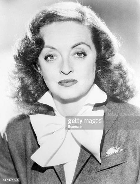 Talented Bette Davis twotime Academy Award winner handles the starring role in the new Mutual show Woman of the Year highlight of Monday evening...