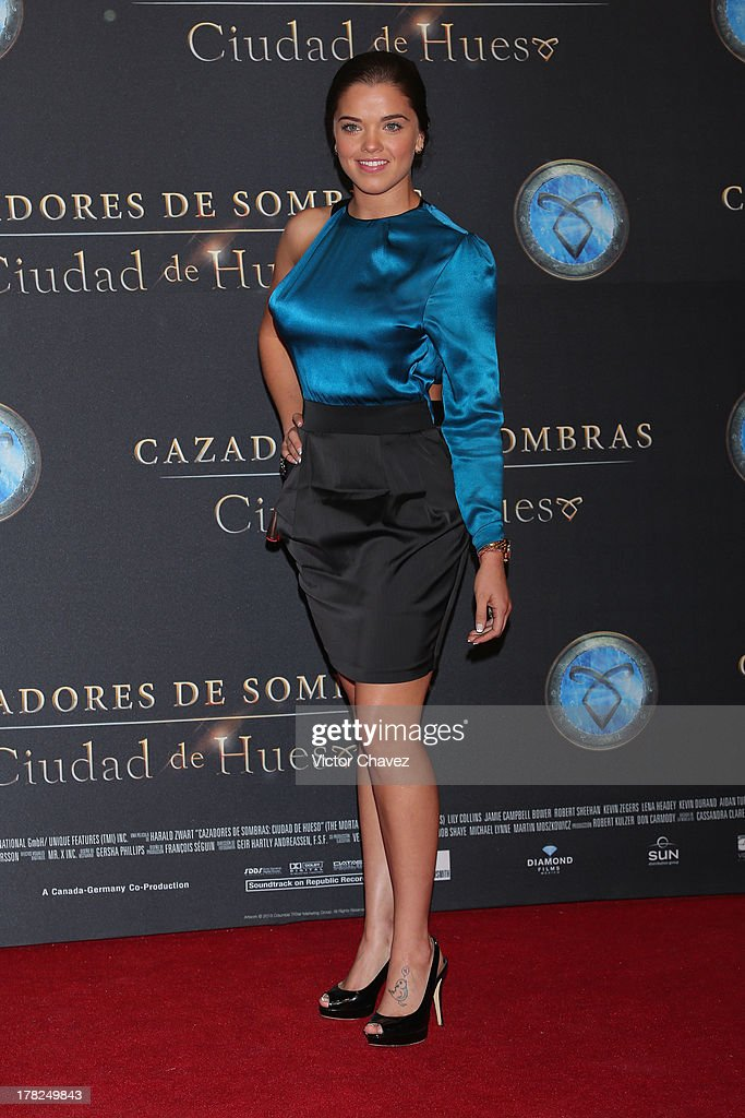 Tali Garcia attends The Mortal Instruments: City of Bones' Mexico City screening at Auditorio Nacional on August 27, 2013 in Mexico City, Mexico.