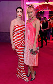 Tali Lennox and Amber Le Bon at The Naked Heart Foundation's Fabulous Fund Fair in London at Old Billingsgate Market on February 20 2016 in London...