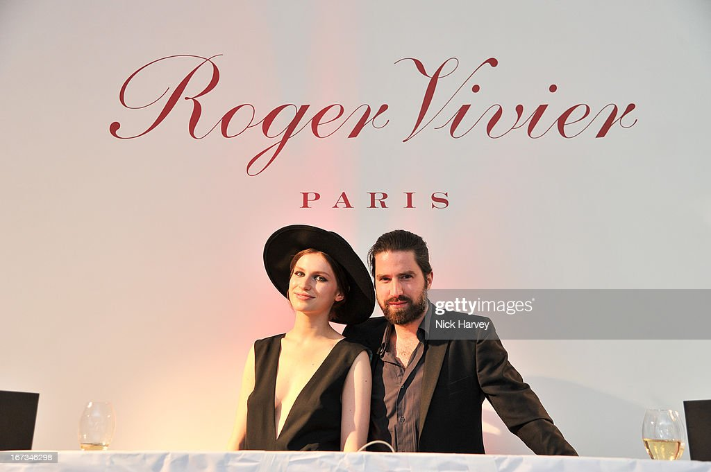 <a gi-track='captionPersonalityLinkClicked' href=/galleries/search?phrase=Tali+Lennox&family=editorial&specificpeople=5602601 ng-click='$event.stopPropagation()'>Tali Lennox</a> and Jack Guinness attend the Roger Vivier book launch party at Saatchi Gallery on April 24, 2013 in London, England.