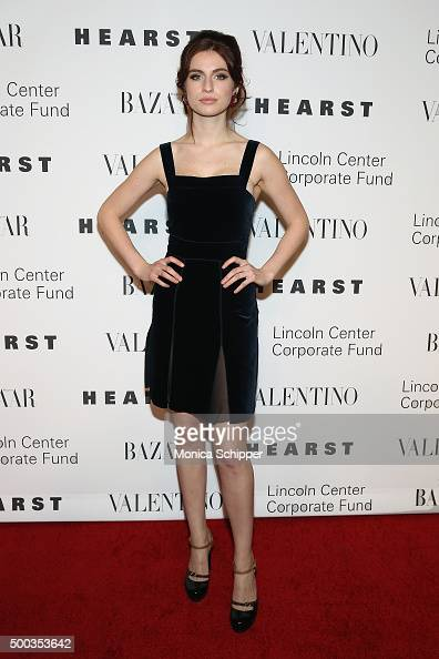 Tali Lennox attends 'An Evening Honoring Valentino' Lincoln Center Corporate Fund Gala Inside Arrivals at Alice Tully Hall at Lincoln Center on...