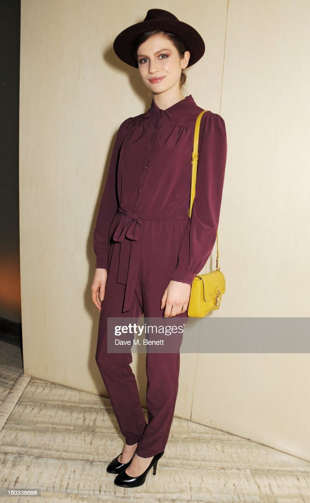 Tali Lennox attends the BFC/Vogue Designer Fashion Fund winners announcement at Nobu Berkeley on January 29, 2013 in London, England.