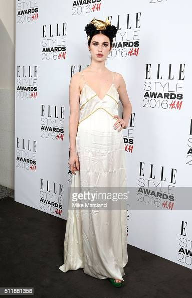 Tali Lennox attends The Elle Style Awards 2016 on February 23 2016 in London England