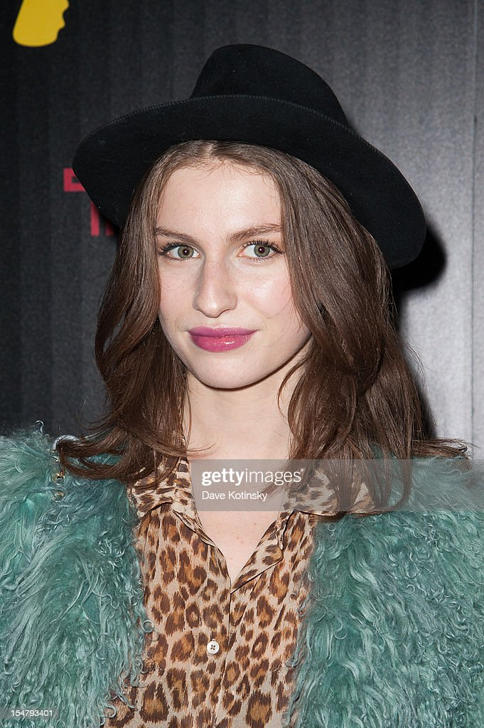 Tali Lennox attends The Weinstein Company With The Cinema Society And Tumi Host A Screening Of 'This Must Be the Place' at Tribeca Grand Hotel on October 25, 2012 in New York City.