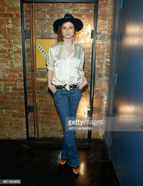 Tali Lennox attends Unemployed Magazine launch at private residence on March 24 2015 in New York City
