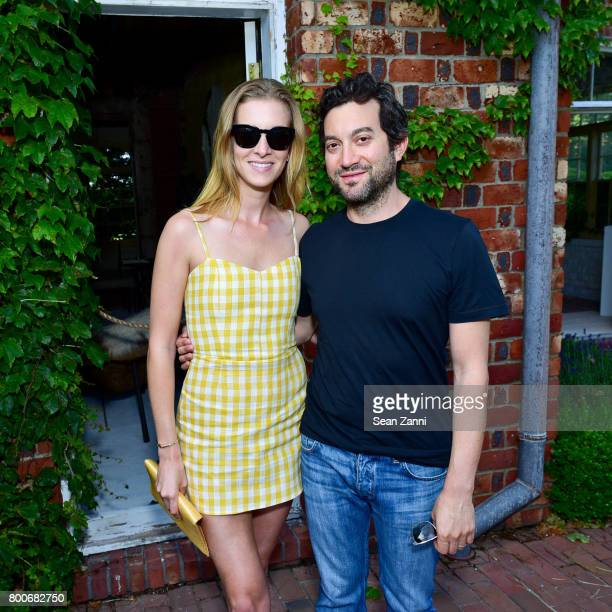 Talia Oringer and Jon Oringer attend Maison Gerard Presents Marino di Teana A Lifetime of Passion and Expression at Michael Bruno and Alexander...