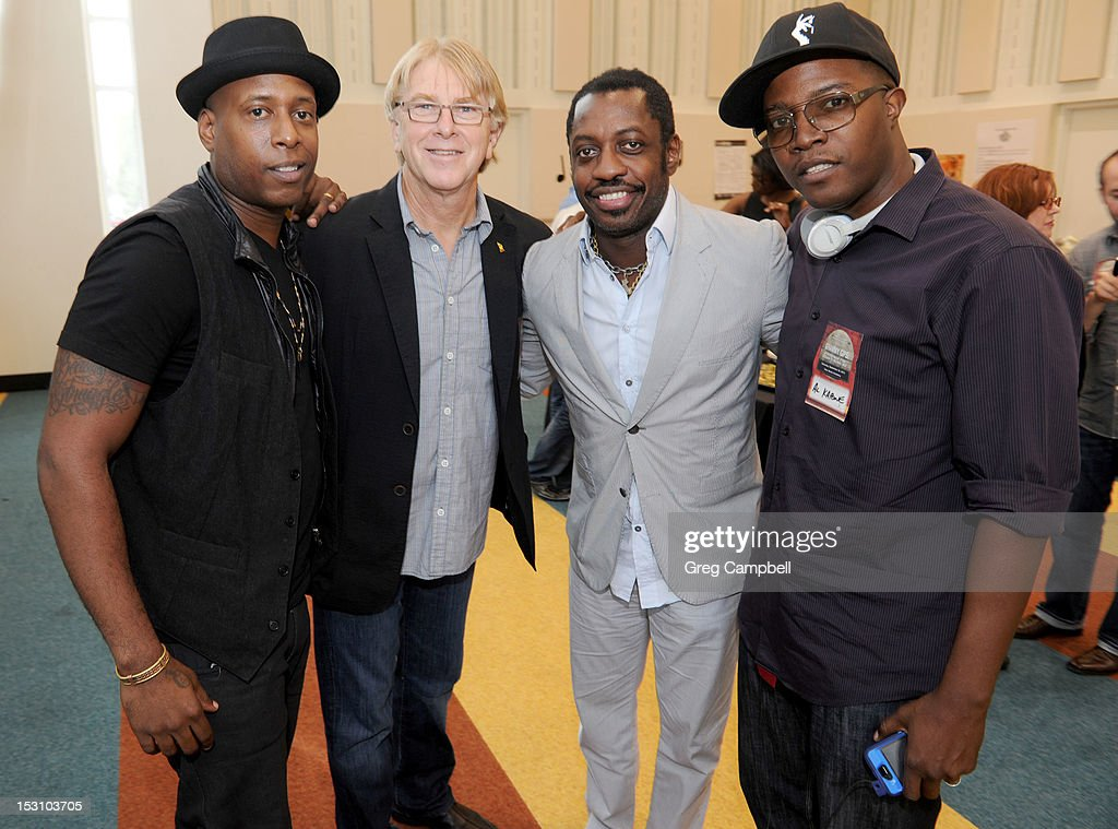 <a gi-track='captionPersonalityLinkClicked' href=/galleries/search?phrase=Talib+Kweli&family=editorial&specificpeople=540348 ng-click='$event.stopPropagation()'>Talib Kweli</a>, Jon Hornyak, Steve Jordan and Al Kapone attend