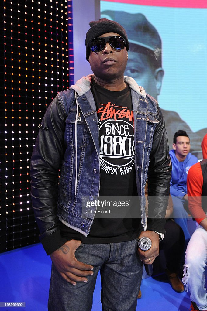 Talib Kweli visits BET's '106 & Park' at BET Studios on March 18, 2013 in New York City.