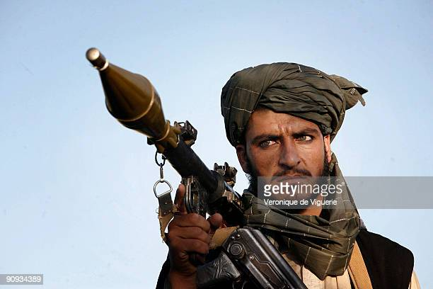 A taliban insurgent serving under Mollah Najib's command in Andar district Ghazni province Mollah Najib receives his orders directly from Mollah Omar...