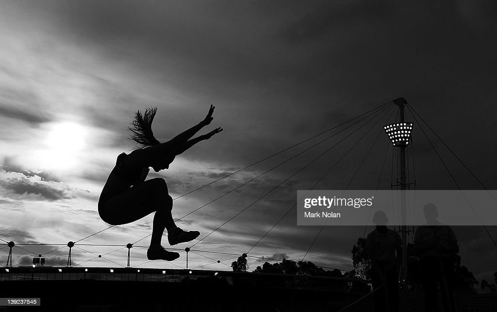 Talissa Scott Of NSW Competes In The Womens Long Jump During Sydney Track Classic At