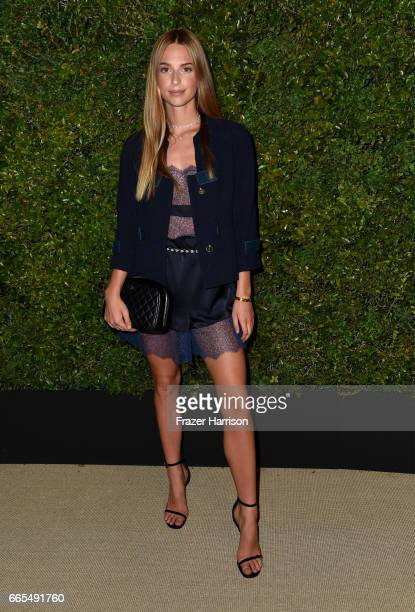 Talita Von Furstenberg attends the celebration of Chanel's Gabrielle Bag hosted by Caroline De Maigret and Pharrell Williams at Giorgio Baldi on...