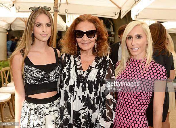 Talita von Furstenberg designer Diane Von Furstenberg and Alexandra von Furstenberg attend the 2014 CFDA/Vogue Fashion Fund Event presented by...
