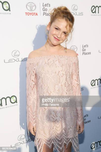 Talitha Bateman at the Environmental Media Association's 27th Annual EMA Awards at Barkar Hangar on September 23 2017 in Santa Monica California