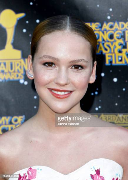 Talitha Bateman attends the 43rd Annual Saturn Awards at The Castaway on June 28 2017 in Burbank California