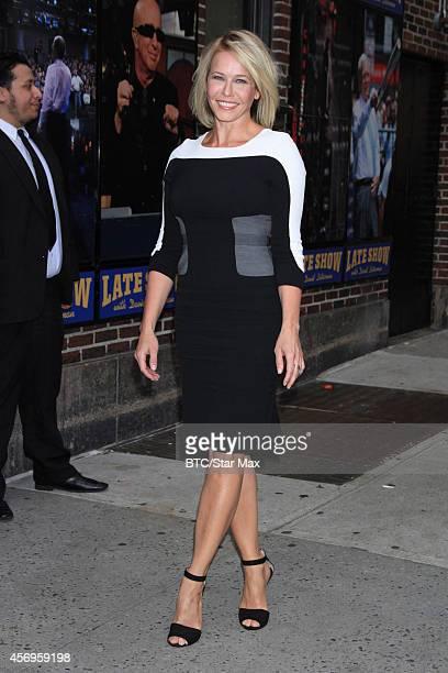Talk Host Chelsea Handler is seen on October 9 2014 in New York City