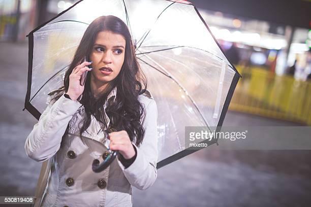 Talk in the rain