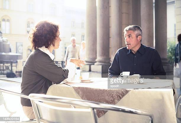 Talk over espresso