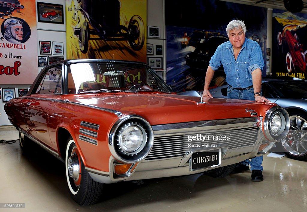 Usa Automotive Comedian Jay Leno Shows His Cars At Jay S Garage