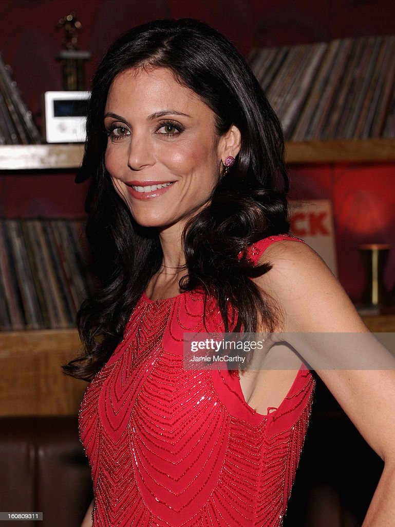 Talk Show Host Bethenny Frankel at a Warner Bros. Brand Networks Cocktail Party at No. 8 on February 5, 2013 in New York City.
