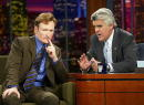 Talk show host Conan O'Brien appears on 'The Tonight Show with Jay Leno' at the NBC Studios on September 5 2003 in Burbank California