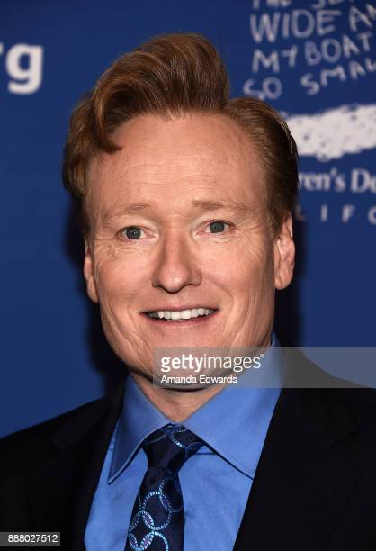 Talk show host Conan O'Brien arrives at the Children's Defense FundCalifornia's 27th Annual Beat The Odds Awards at the Beverly Wilshire Four Seasons...