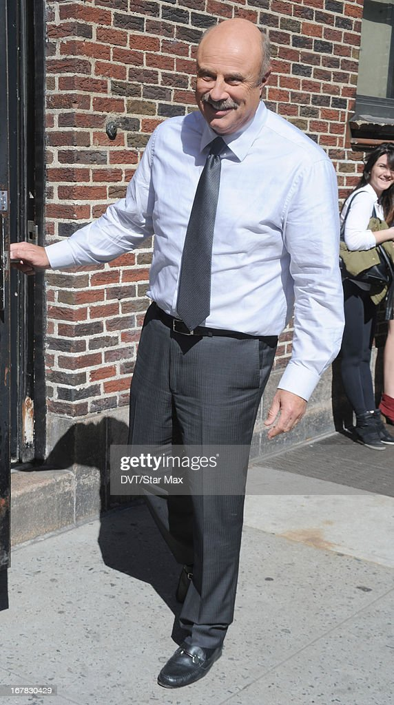 Talk Show Host Dr. Phil McGraw as seen on April 30, 2013 in New York City.