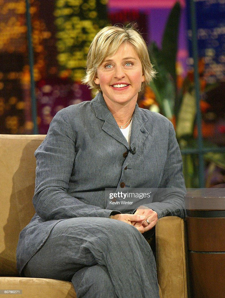Perry bamonte stock photos and pictures getty images - Talk Show Host Ellen Degeneres Appears On The Tonight Show With Jay Leno At