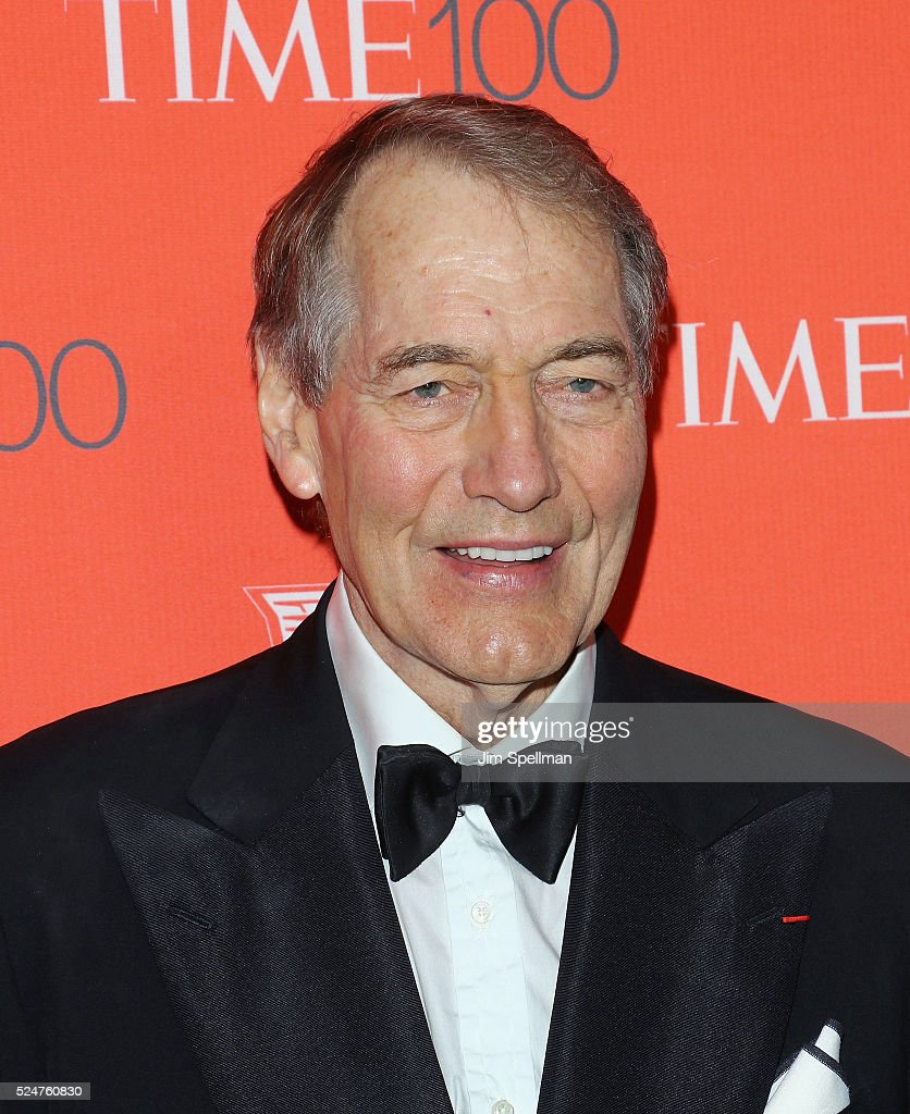 Talk show host/ journalist <a gi-track='captionPersonalityLinkClicked' href=/galleries/search?phrase=Charlie+Rose&family=editorial&specificpeople=535420 ng-click='$event.stopPropagation()'>Charlie Rose</a> attends the 2016 Time 100 Gala at Frederick P. Rose Hall, Jazz at Lincoln Center on April 26, 2016 in New York City.