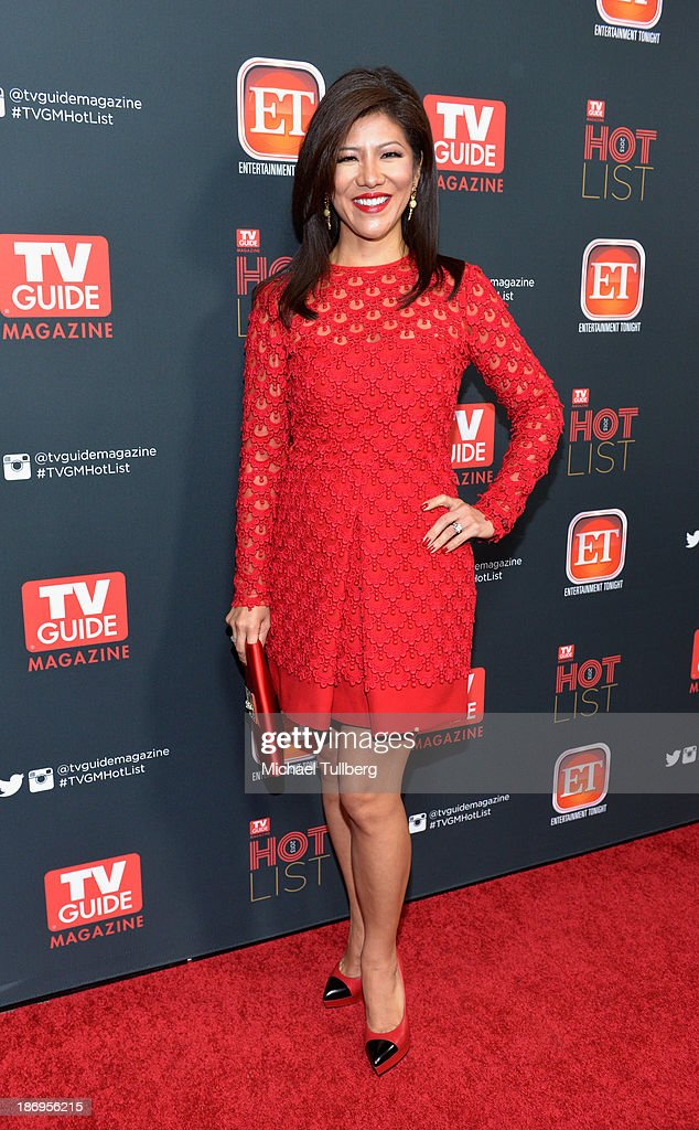 Talk show host Julie Chen attends TV Guide Magazine's Annual Hot List Party at The Emerson Theatre on November 4, 2013 in Hollywood, California.
