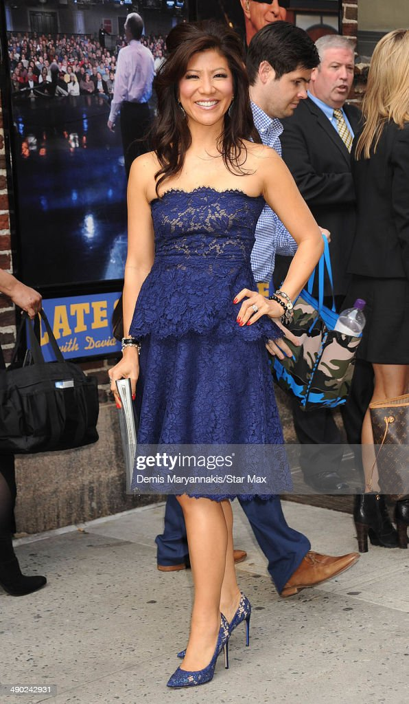 Talk Show Host Julie Chen is seen on May 13 2014 in New York City