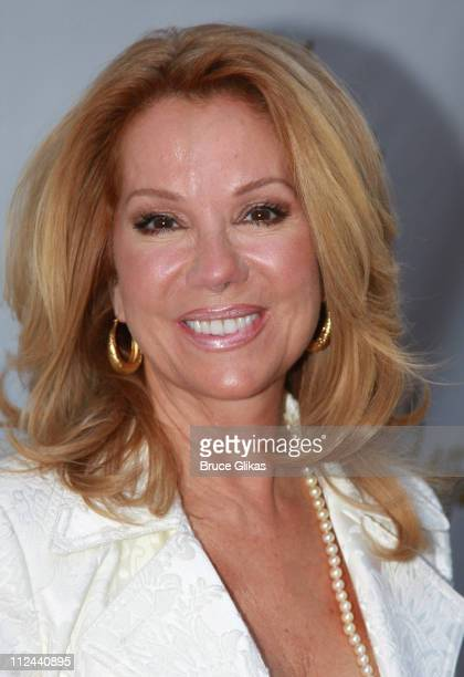 Talk Show Host Kathie Lee Gifford poses at The Arrivals for The Opening Night of The New Musical 'A Catered Affair' on Broadway at The Walter Kerr...