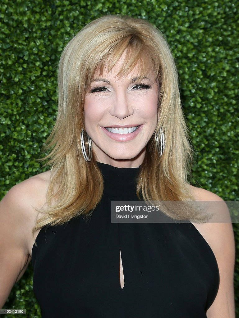 Talk show host <a gi-track='captionPersonalityLinkClicked' href=/galleries/search?phrase=Leeza+Gibbons&family=editorial&specificpeople=217241 ng-click='$event.stopPropagation()'>Leeza Gibbons</a> attends the HollyRod Foundation's 16th Annual DesignCare at The Lot Studios on July 19, 2014 in Los Angeles, California.