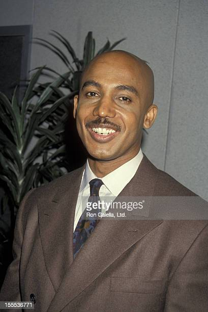 Talk Show Host Montel Williams attending NAPTE Convention on January 26 1993 at the Moscone Convention Center in San Francisco California
