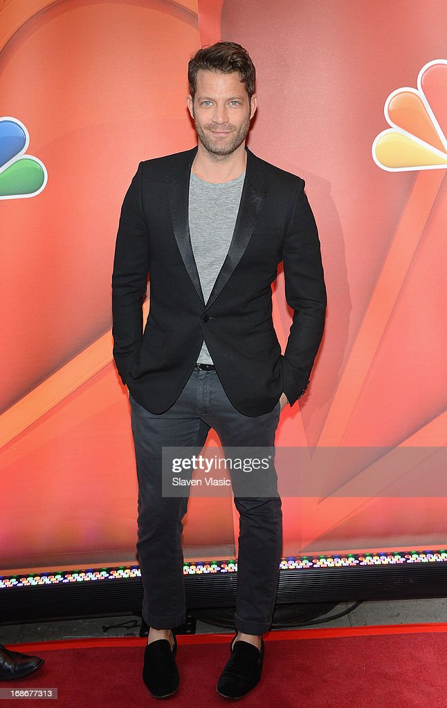 Talk Show Host Nate Berkus attends 2013 NBC Upfront Presentation Red Carpet Event at Radio City Music Hall on May 13, 2013 in New York City.