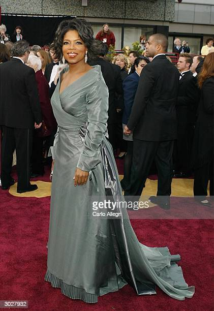 Talk show host Oprah Winfrey attends the 76th Annual Academy Awards at the Kodak Theater on February 29 2004 in Hollywood California