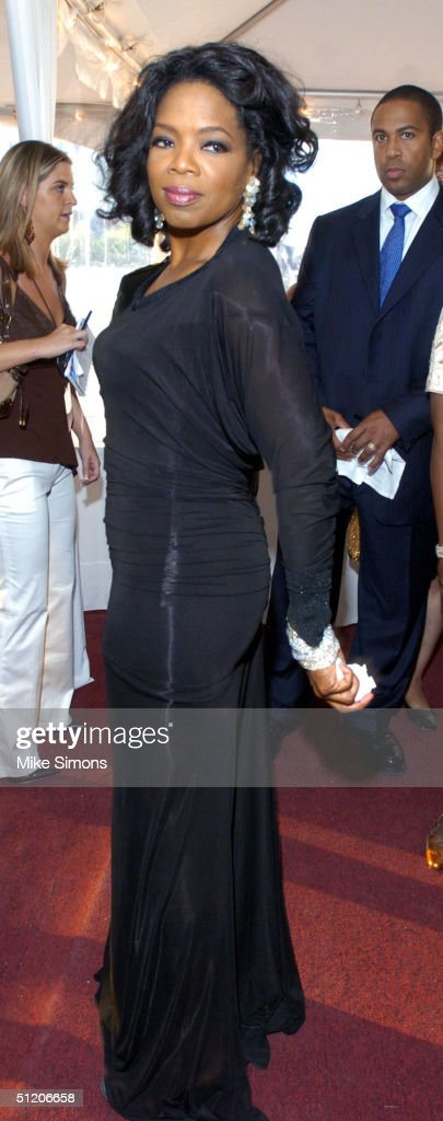 Talk show host Oprah Winfrey attends the National Underground Railroad Freedom Center Gala August 22 2004 in Cincinnati Ohio