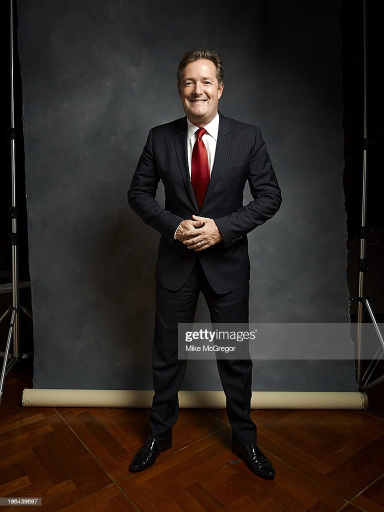 Talk show host Piers Morgan is photographed for Self Assignment on September 11, 2013 in New York City.