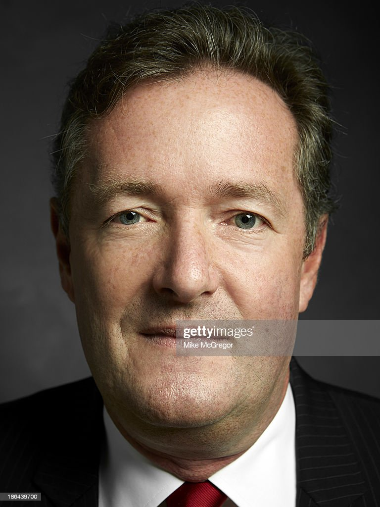 Talk show host <a gi-track='captionPersonalityLinkClicked' href=/galleries/search?phrase=Piers+Morgan&family=editorial&specificpeople=216509 ng-click='$event.stopPropagation()'>Piers Morgan</a> is photographed for Self Assignment on September 11, 2013 in New York City.