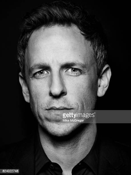Talk Show Host Seth Meyers Is Photographed For Variety On May Picture Mike Stock Fotos Und Bilder Getty Images