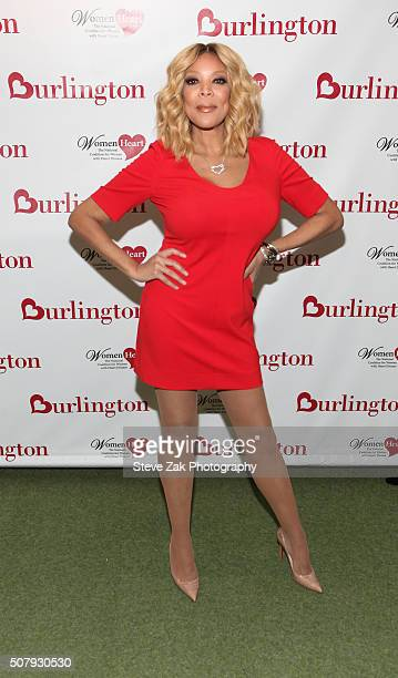Talk Show host Wendy Williams attends #HealthyHeartSelfie Challenge at Initiative New York Headquarters on February 1 2016 in New York City