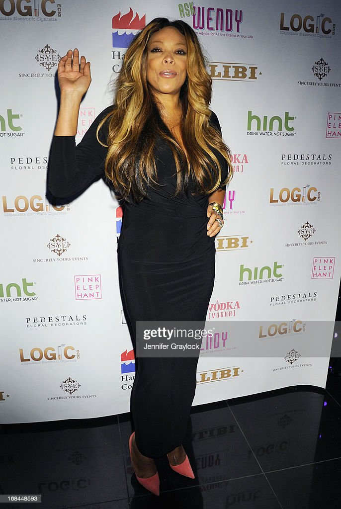 Talk Show Host Wendy Williams attends the Wendy Williams Debuts 'Ask Wendy' By Harper Collins Book Release Party at The Pink Elephant on May 9, 2013 in New York City.