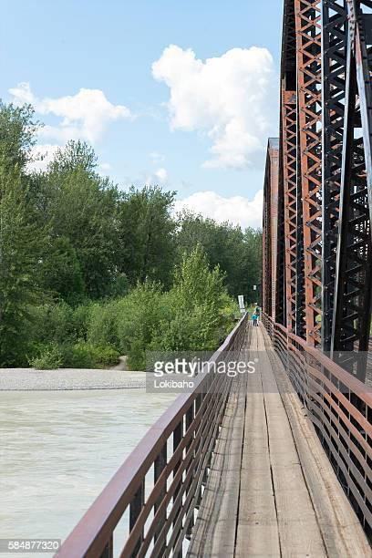 Talkeetna Railroad Bridge and Chase Trail