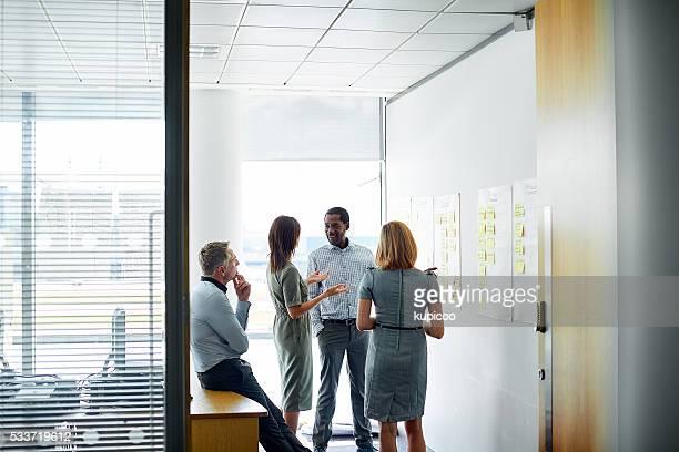 Parler les choses en équipe
