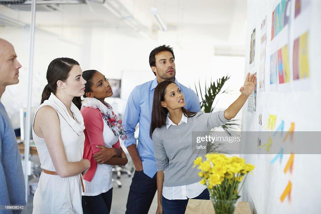 Talking through the design process