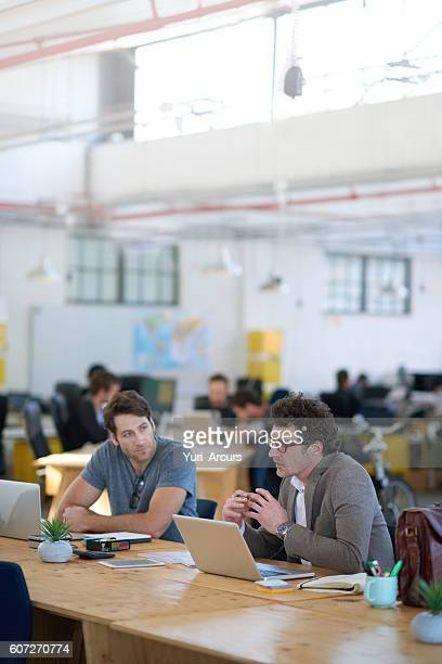 Talking through their creative process
