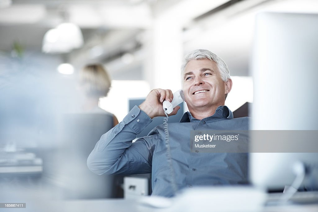 Talking to the customers on the phone is vital