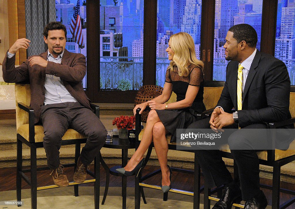 "SISTO talks about the ABC series ""Suburgatory,"" on 'LIVE with Kelly and Michael,' distributed by Disney-ABC Domestic Television. JEREMY"
