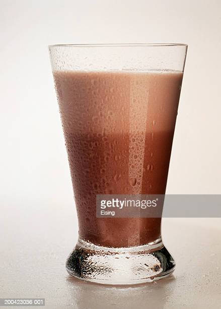 Tall Glass of Chocolate Milk