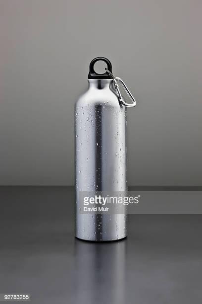 tall metal water bottle