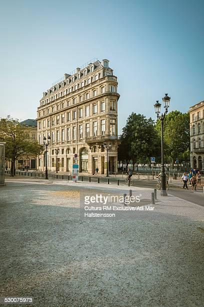 Tall narrow building, Bordeaux, Aquitaine, France